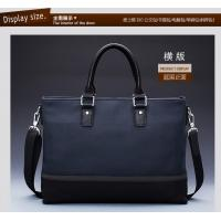 Wholesale new fashion real leather men Ipad bags two tone drop shipping from china suppliers