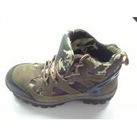 Wholesale Navy Camouflage Heavy Duty Work Shoes With Air Mesh Lining from china suppliers