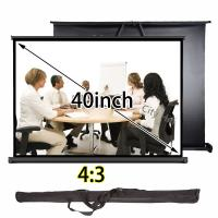 Wholesale Mini Table Projector Screen 4x3 Format Watching Space With Aluminum Stand from china suppliers