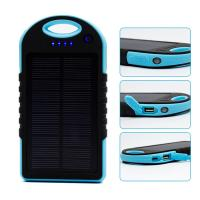 Wholesale 10000mAh high capacity waterproof solar charger for samsung S6 from china suppliers