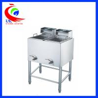 Wholesale Industrial free standing big capacity Electric Deep Fryer stainless steel from china suppliers
