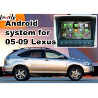 Wholesale Lexus ES NX IS Car GPS Navigation System with rear view touch screen TV video cast screen from china suppliers