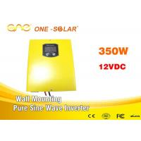 Wholesale 350Watt Pure Sine Wave Solar Panel Inverter With Ac Charger Pure Copper Transformer CE Certificate from china suppliers