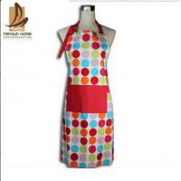 Wholesale Custom Colored Home Cooking Cotton Kitchen Apron 70 x 80cm 250gsm Bbq Apron from china suppliers