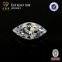Wholesale 5A Grade(Korean machine cut) White Marquise Brilliant faceted gemstone Cubic Zirconia from china suppliers