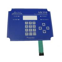 Wholesale UV Resistance PET / PC / Autotex Flexible Membrane Switch Keypad from china suppliers