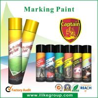 Buy cheap Eco Friendly 650ml Marking Spray Paint , Marker Paint For Wood from wholesalers