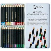 Wholesale 7 inches High quality office&school non-toxic drawing natural wooden color pencil sets from china suppliers