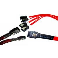Wholesale SAS x4 (SFF-8484) to SAS (4)x1 (SFF-8482) Data Cables from china suppliers