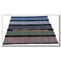 Buy cheap Shingle Sand Coated Steel Roofing Tile New Building Material for Roof Cladding Project from wholesalers