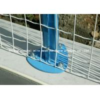 Buy cheap Heavy Duty Welded Wire Mesh Panels , Metal Fencing Panels 100mm*100mm from wholesalers