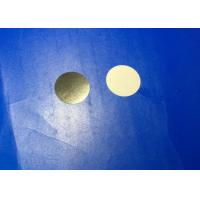 Quality Ultra Thin Machining Zirconia Ceramic Disc / Plate Diameter 22mm Thickness 0.2mm for sale