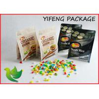 Wholesale Quad Seal Flat Bottom Pouch Side Gusseted Bag with Zipper For Food packaging from china suppliers