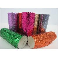 Wholesale Diamond Decoration Wallpaper Chunky Glitter Fabric Wear Resisting from china suppliers