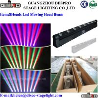 Wholesale 8 Heads LED Moving Head Beam Light RGBW LED Full Color Rotating Lamp from china suppliers