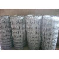 Wholesale Galvanized Metal Knotted Grassland Fence / Cattle Field Fence For Animal Protection from china suppliers