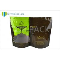 Wholesale Glossy Printed Stand Up Pouches With Clear Window , PE food pouches packaging from china suppliers