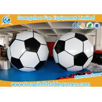 Buy cheap 3m Diameter Giant Inflatbale Foot Ball Soccer Big Inflatable Soccer Games from wholesalers