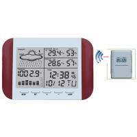 Wholesale 433MHz RF RCC Wireless Weather Station with Digital Alarm Clock Barometer Indoor Outdoor Temperature Humidity MS6145D from china suppliers