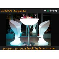 Wholesale Rechargeable lighted bar tables waterproof LED Chair Remote control from china suppliers