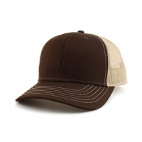Wholesale Custom Cotton Twill 6 Panel Blank Trucker Cap Plastic Buckle from china suppliers