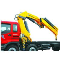 Wholesale High Lifting Capacity 14T Knuckle Boom Truck Mounted Crane For Transporting Heavy Things from china suppliers