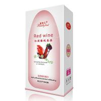 Wholesale Anti - Yellowish Sleeping Facial Mud Mask Red Wine For Repairing / Whitening from china suppliers
