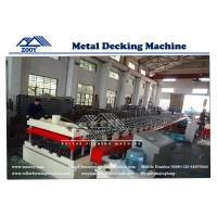 Wholesale Metal Decking Roll Forming Machine Steel Structure sheet from china suppliers