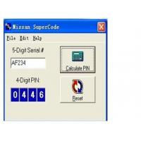 Wholesale Nissan Super Code Software, Nissan Pin Code Calculator For Programming Keys from china suppliers