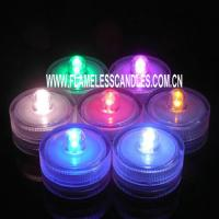 Wholesale Flameless LED Waterproof Tea Lights Candles Underwater Flameless Tealights with Battery from china suppliers