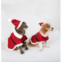 Wholesale Red Christmas Dog Clothes Winter from china suppliers