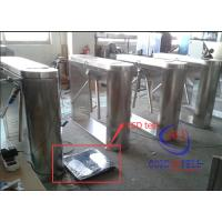 Wholesale Security Half Height Turnstiles Tripod Turnstile Gate With Led Direction Instruction from china suppliers