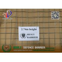 Wholesale HESLY MIL19 Defensive Barrier | 2.74m high with beige color geotextile cloth from china suppliers