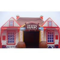 Wholesale Hand Printing Inflatable Air Tent , Inflatable Bar Tent House 9x6x4.5 Meter For Party from china suppliers