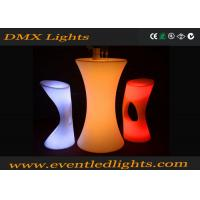 Wholesale Event Led Furniture Led Cocktail Table , Pe Led Pub Table Rgb Glowing 16 Colors from china suppliers