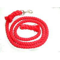 Wholesale cotton horse leading rope ,Lead Rope for Horse red color from china suppliers