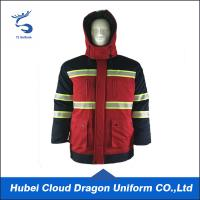 Wholesale Red Safety Reflective Windbreaker Security Guard Coats Coveralls High Visibility Waterproof from china suppliers