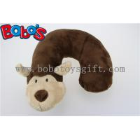 Wholesale Cute Animal U-Type Neck Travel Plush Pillow Monkey Stuffed Neck Support from china suppliers