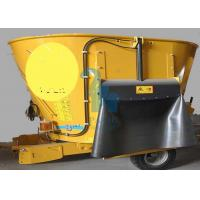 Wholesale 8pcs Tyres Animal Feed Grinder Mixers , High Speed Feed Mixer Machine from china suppliers