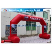 Wholesale OEM / ODM Red Custom Inflatable Arch With Stable Legs Digital Printing from china suppliers