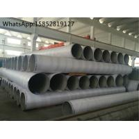Quality TP316Ti Large Outside Diameter Stainless Steel Welded Pipe For Petrochemical Industry for sale