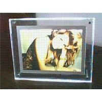 Buy cheap Transparent Contemporary Photo Frames , Supermarket Acrylic Holder Display from wholesalers