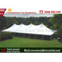 Wholesale Instant Canopy High Peak Tent Aluminum Frame Material With Flowers Decoration from china suppliers