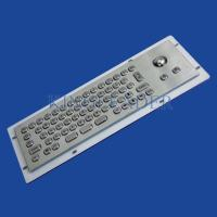 Quality Customizable Compact Small Kiosk Industrial Keyboard With Optical Trackball for sale
