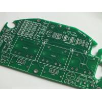 Wholesale Single Layer PCB Design Copper FR5 FR4 Solder Mask Green 0.6mm from china suppliers