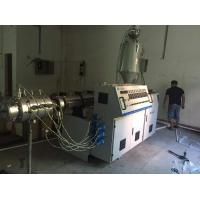 Wholesale 160mm PVC Plastic Pipe Extrusion Machine Conical Twin Screw Extruder from china suppliers