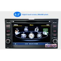Wholesale 6.2'' Car Stereo GPS Headunit Multimedia DVD Player forKIA Sportage Cerato Carnival Sorent from china suppliers