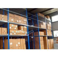 Wholesale Bolted Steel Shelving Auto Parts Rack  / Auto Parts Storage Q235B Steel Rack Shelves from china suppliers