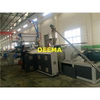 Buy cheap Faux Wall Panel Plastic Sheet Extrusion Machine 0.5-4m/min Calcium from wholesalers
