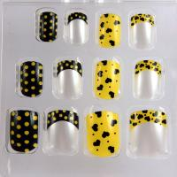 Wholesale Custom Acrylic / Gel Cute Polka Dot Nails Beautiful Heart Nail Art from china suppliers